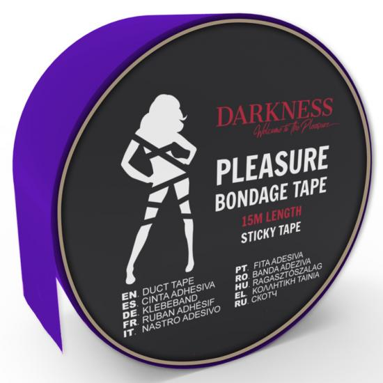 Darkness Sticky Tape Purple 15m