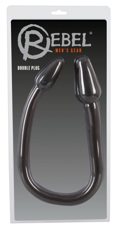 Double Plug Black