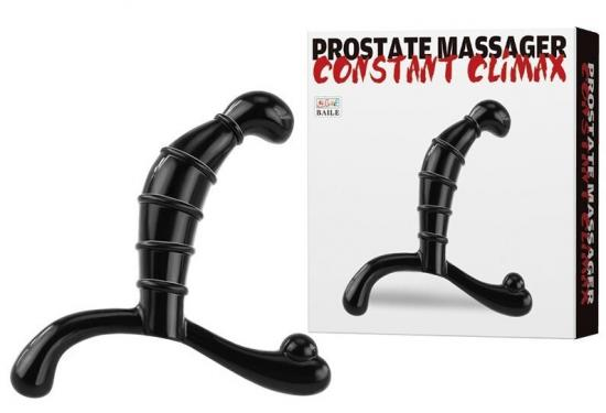 Prostate stimulator Black