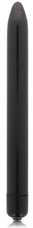 Glossy Slim Vibrator Black