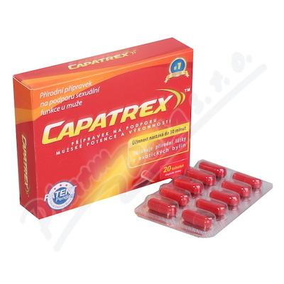 Capatrex 20 tobolek pro erekci na 72 hod.