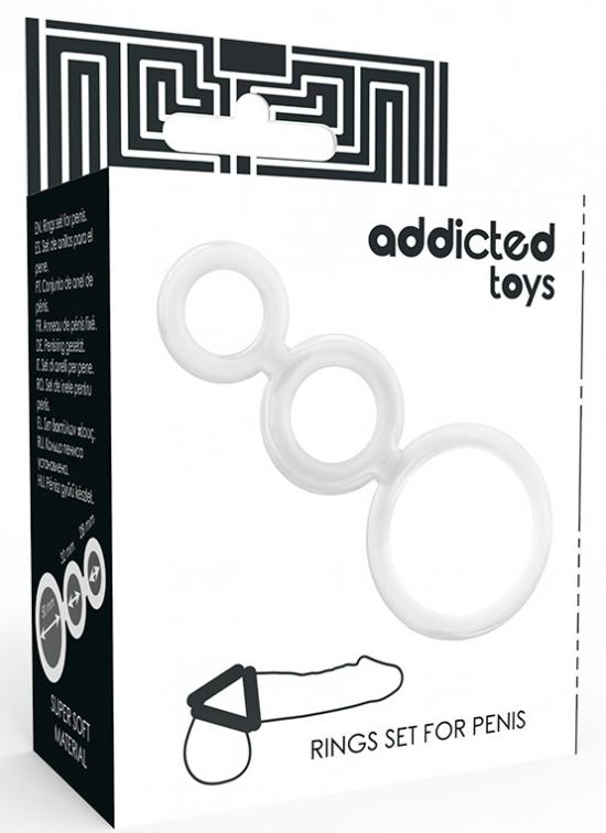 Addicted Toys Rings Set For Penis