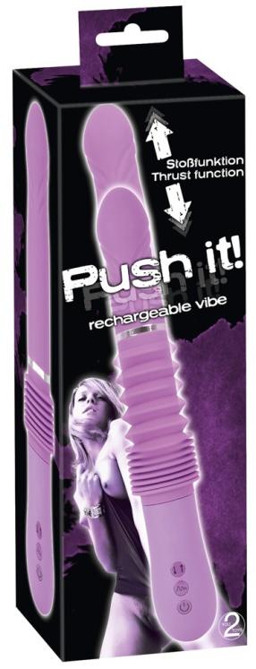 Nabíjecí přirážecí vibrátor Push it