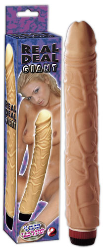 Velký vibrátor s tvarem penisu