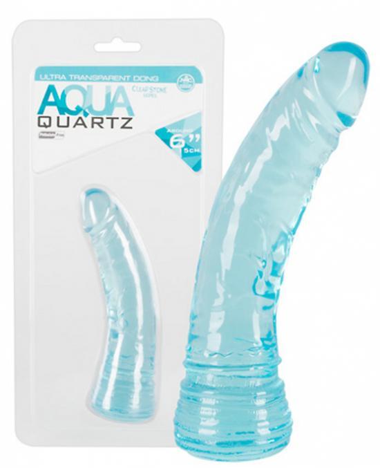 Aqua Quartz 6 Inch realistický penis