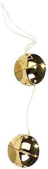 Plastové kuličky zlaté vaginální masturbace