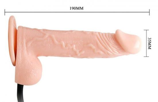 Inflatable ballsy penis dong
