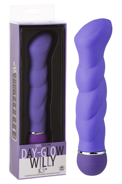 Day-Glow Willy Purple