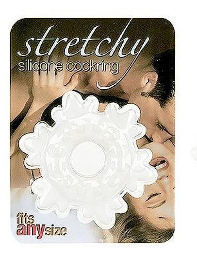 Cockring Silikone stretche Stern