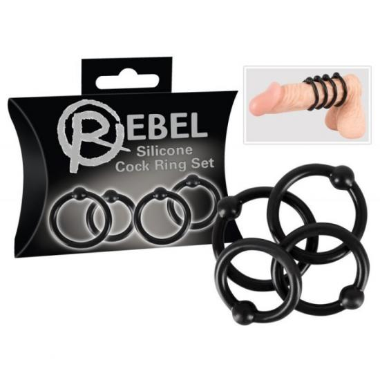Rebel Silicone Cock Ring