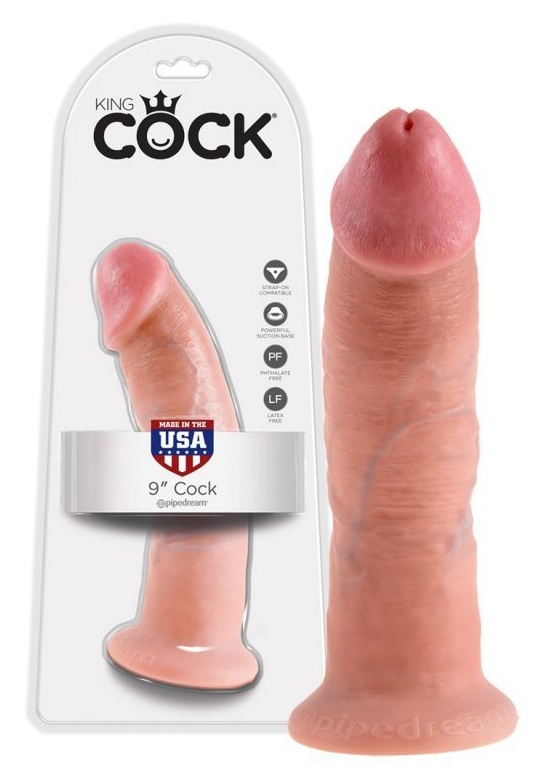 Dildo King Cock Flesh 9inch 23cm