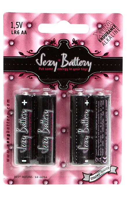 Baterie Sexy Battery - Alkalické AAA