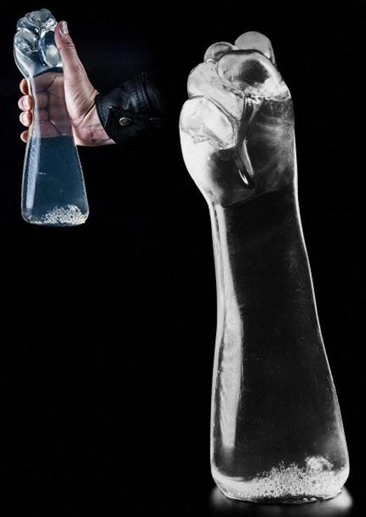 Dark Crystal Clear Fist XXL 30cm