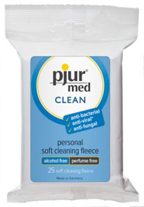 Pjur med Clean Fleece - 25 kusů