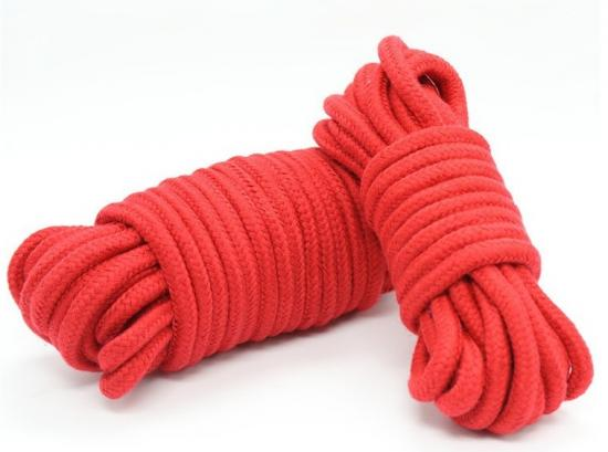 Cotton Rope 10m - Red