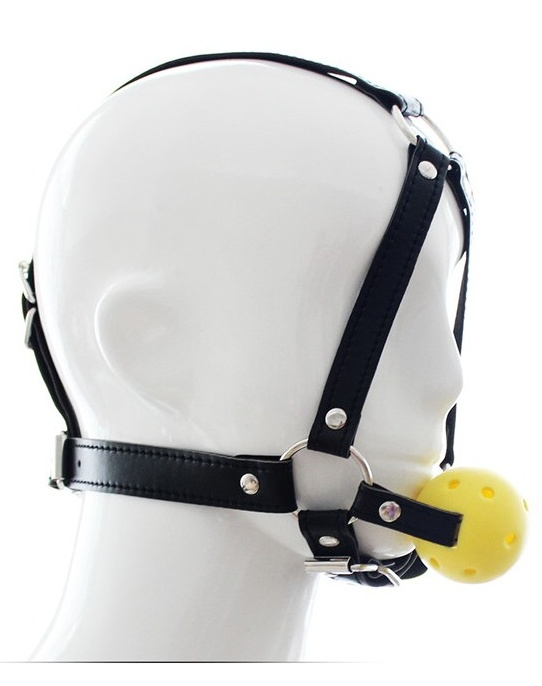 Ball Gag Harness - roubík