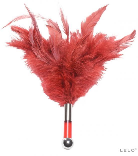 Lelo Tantra Feather Theaser - červená
