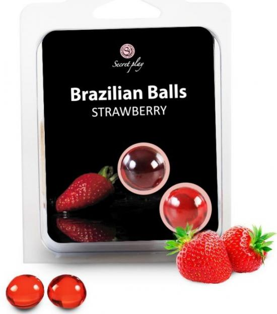 2 Brazilian Balls Strawberry