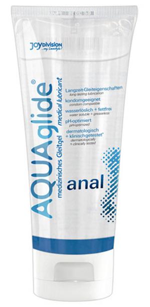 Anální lubrikační gel na vodní bázi AQUAglide 100 ml