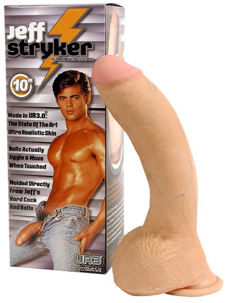 Realistický odlitek penisu Jef Stryker