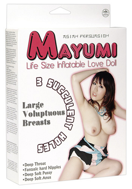 Nafuovací panna Mayumi