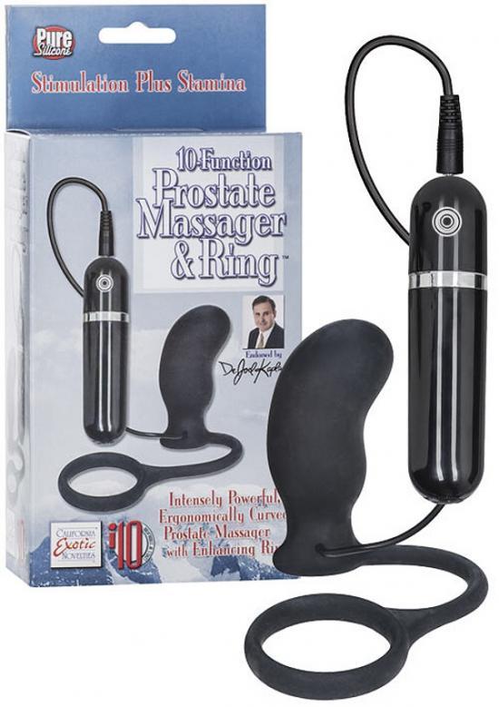 Dr. Joel 10 Funct. Massager & Ring