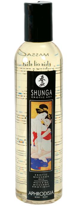 Shunga Aphrodisia s vůní růží 250 ml