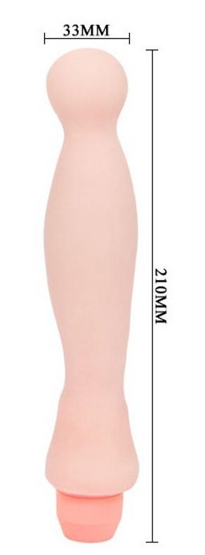 FLEXI VIBE SENSUAL SPINE - SMOOTH 22cm