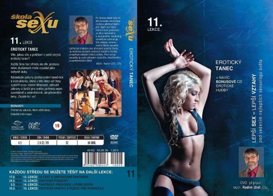 Erotický tanec - Škola sexu DVD 11.
