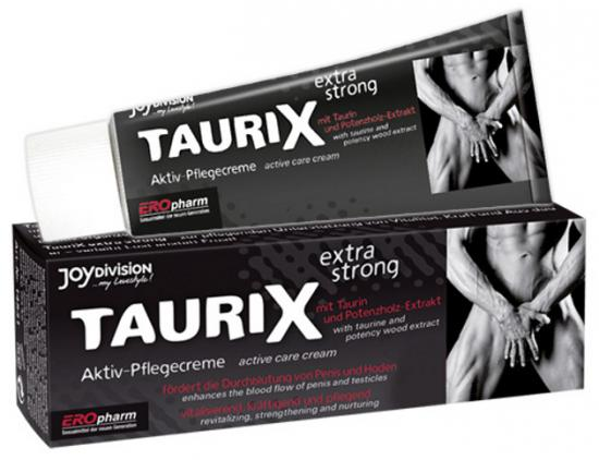 Krém pro silnou erekci Taurix Extra Strong 40ml
