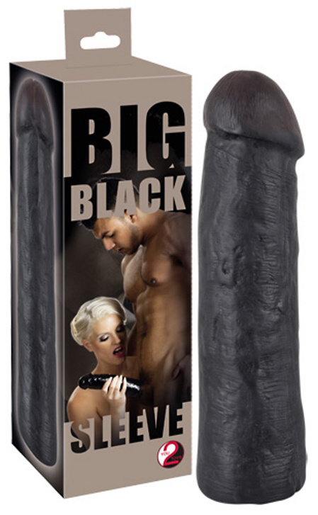 Big Penis Sleeve Black