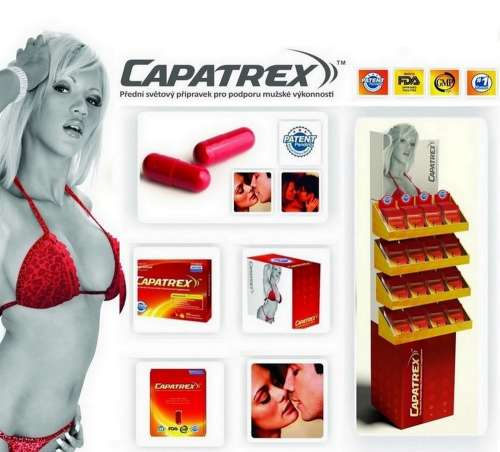 1tabl. Capatrex 450mg pro erekci na 72