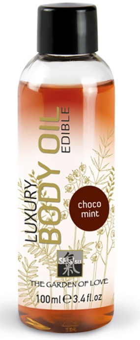luxury body oil chocolate-mint 100 ml