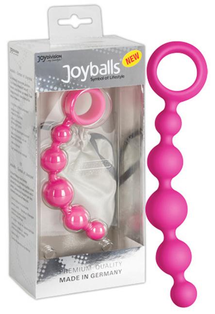 Joyballs anal Wave pink-Anální kuličky