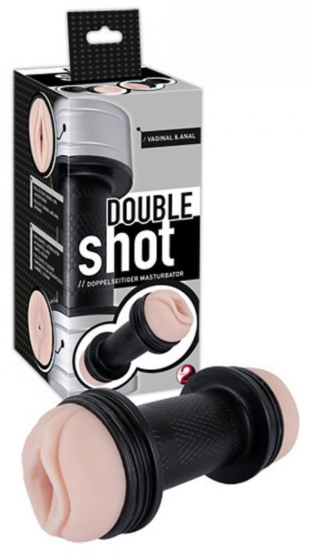Double Shot Masturbátor - Umělá vagína