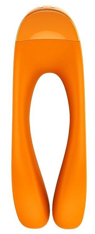 Satisfyer Candy Cane Finger Vibrator Orange