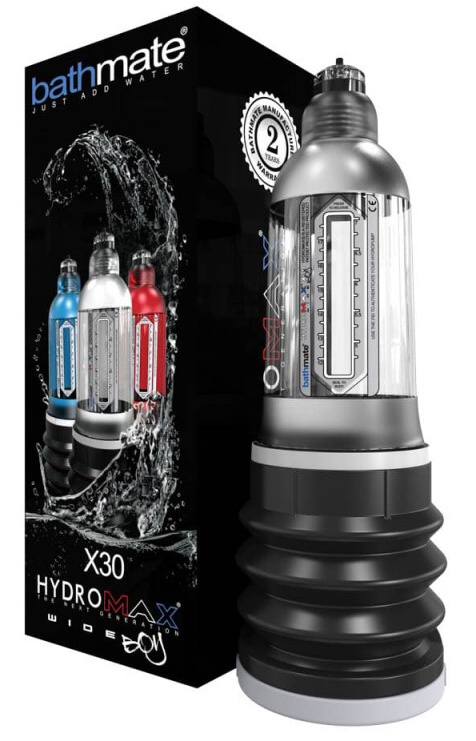Hydromax-X30 Wide Boy Clear