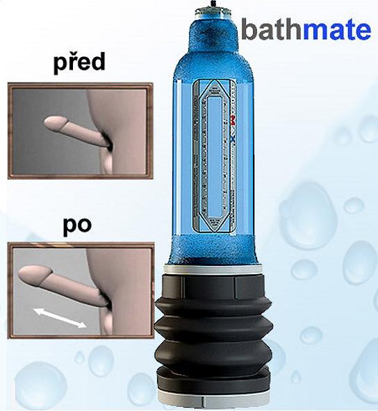 Vakuová pumpa vodní Bathmate Hydromax X30 modrá