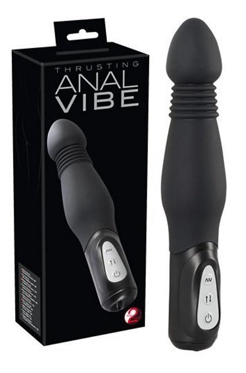 Black Thrusting Anal Vibe