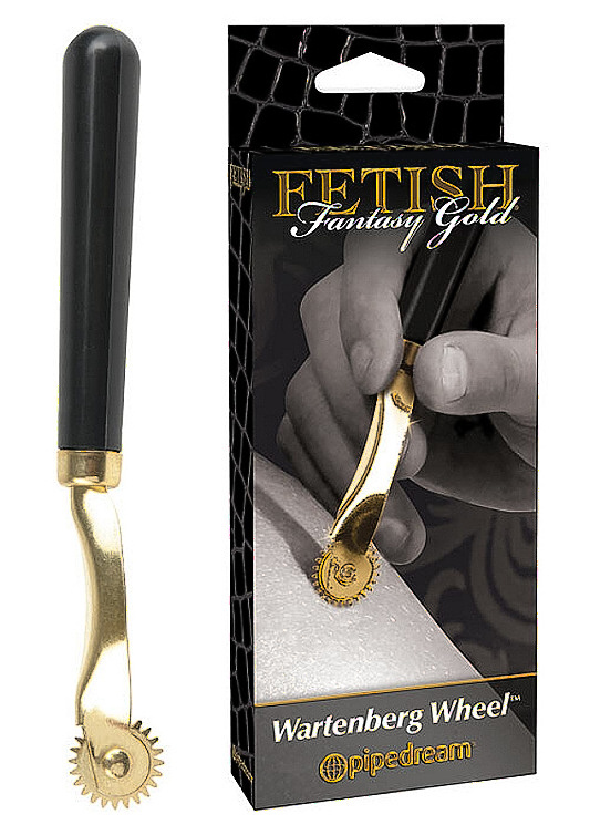 Fetish Fantasy Gold Wartenberg Wheel