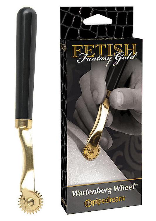 Fetish Fantasy Gold Wartenberg Wheel