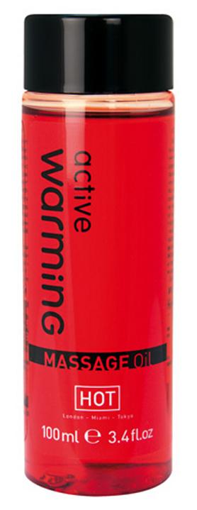 HOT masážní olej - zahřívací - 100 ml