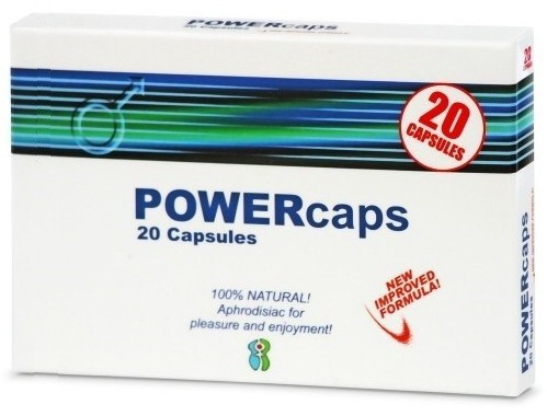 POWERcaps 20 tbl. s DOPRAVOU Českou poštou ZDARMA !