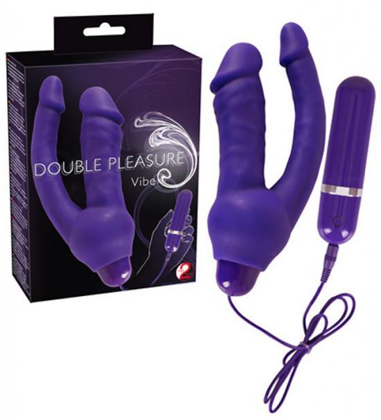 Dvojitý vibrátor Double Pleasure Vibe