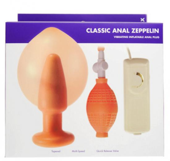Zeppelin Inflatable Butt Plug Kinx