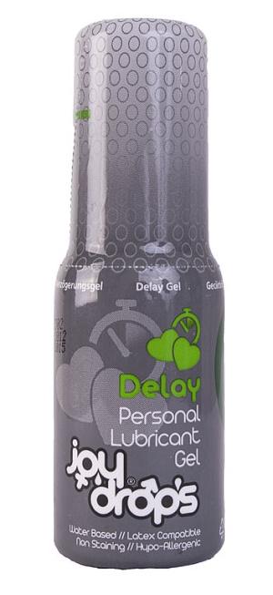 JoyDrops Delay 50 ml, lubrikační gel pro oddálení ejakulace