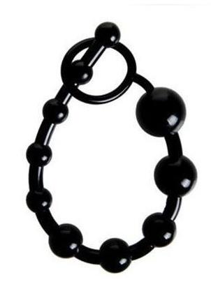 Backyard Anal Beads Black