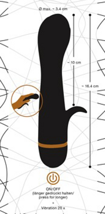 Bendy Tulip Vibrator