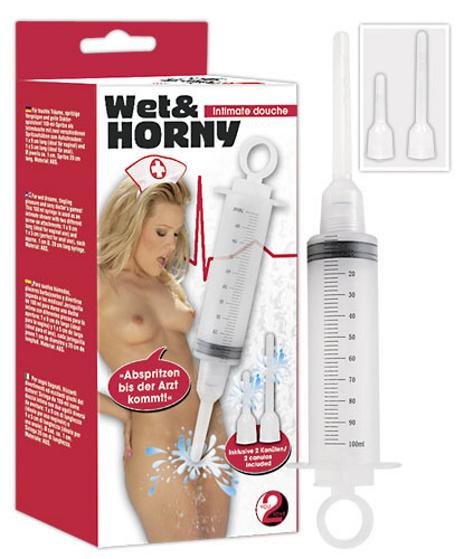 Wet + Horny - anální sprcha