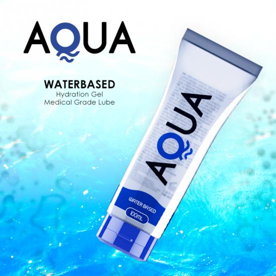 Aqua Quality Waterbased Lubricant 100ml